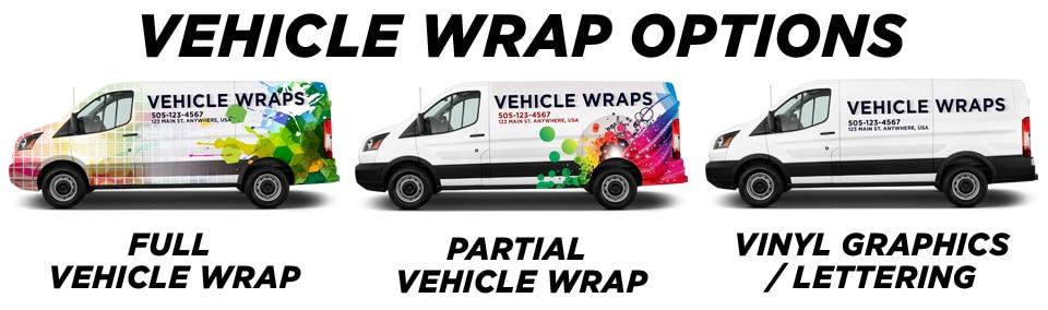 San Diego Vehicle Wraps & Graphics vehicle wrap options