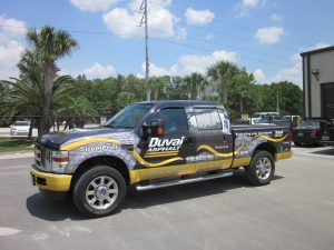 custom full vehicle truck wrap